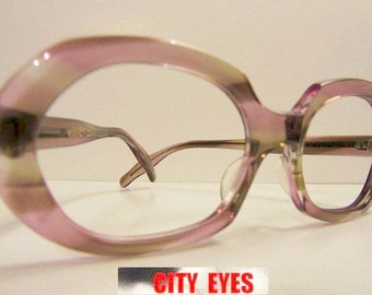 1960s Fancy Bug Eye optical frames for Eyeglasses or Sunglasses VOGUE New Old Stock