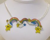 RESERVED FOR TIFFANY - Rainbow Arc Necklace
