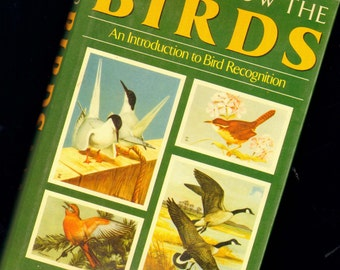 How To Know The Birds Roger Tory Peterson 1985 Hardcover Book Natural History Field Guide