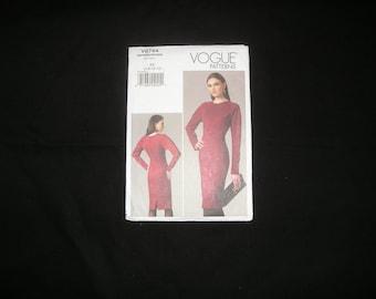 Vogue 8744 Dress Pattern