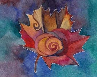 Free Original watercolor by Megan Noel