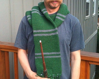 Hogwarts Slytherin Scarf - The Later Years
