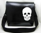 Skull Vinyl Messenger - Reserved