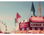 Summer - Photography - Ferris Wheel Photograph - Carnival - Fair - Photograph - All's Fair - Fine Art Photograph - Alicia Bock - Oversized