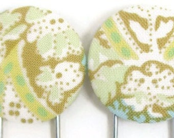Set of 2 Jumbo Paperclips in Neutral Paisley