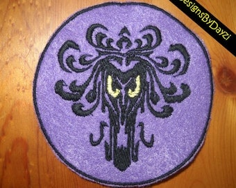 Haunted Mansion Inspired Spooky Wallpaper Patch