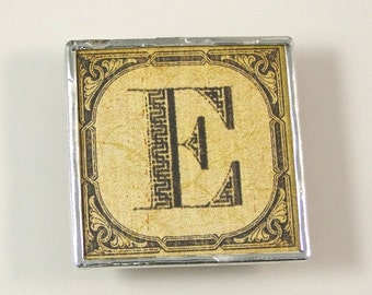 Letter E Initial Magnet