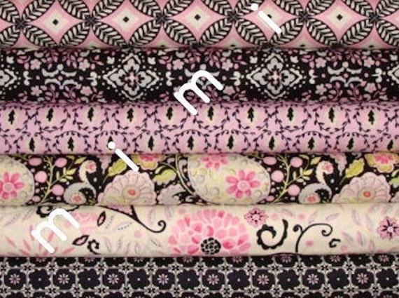 Yard Bundle - Dena Designs Fabric / McKenzie Collection / 6 yards  - Cotton Quilt Apparel Fabric