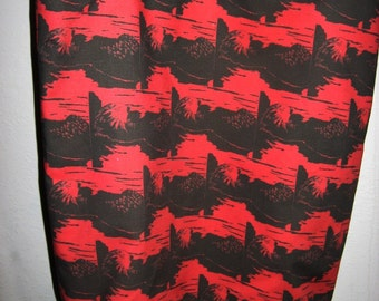 Swimming Otter Cotton Tote Bag