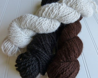 Yarn Alpaca Handspun White
