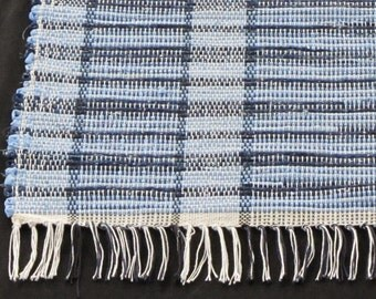 """Rag Rug """"In The Navy"""" Short and Sweet"""