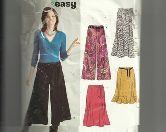 New Look Misses' Skirts Pattern 6626