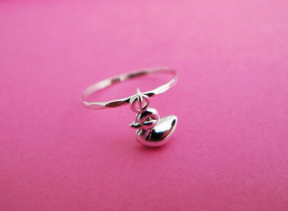 Ducky Charm Ring