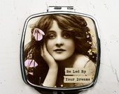 Be Led By Your Dreams Boho Chic Pocket mirror
