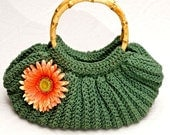 Crochet Bag Pattern - Crochet bag vintage style - crochet pattern