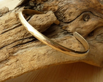 Hammered Cuff - Gold-Filled