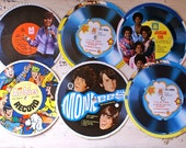 Vintage Cereal Box Records, Jackson Five, Monkees, Archies