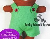 Kawaii Kuties Pants Pattern PDF INSTANT DOWNLOAD