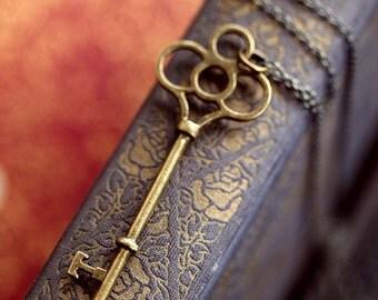 Bronze Key Necklace 8