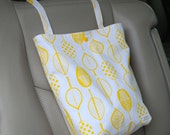 Yellow Bamboo - Auto Trash Bag from green by mamamade