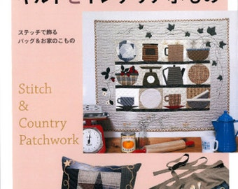 Stitch n Country Patchwork - Japanese Craft Book*
