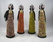 Doll, African Beads, African Doll, African Beaded Doll, Africa, Fertility Doll, Ghana