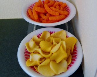 Snacks for 1:4 scale-- Potato Chips (Crisps) and Cheese Curls