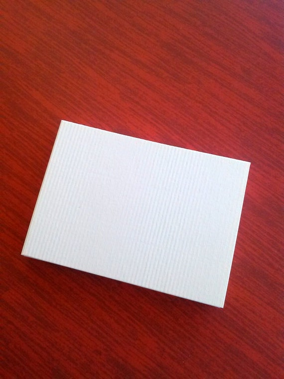 ACEO Blanks soft white, Set of 30