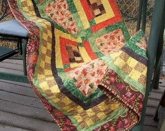 Southwestern Pottery Patchwork Quilt