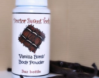 Vanilla Bomb Dusting Powder 3oz