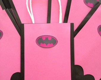Made to Order - Inspired BATGIRL Gift Bags