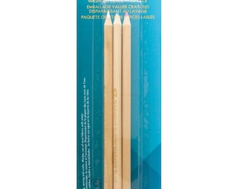 Fabric Marking PENCILS - Washout - 3 Colors