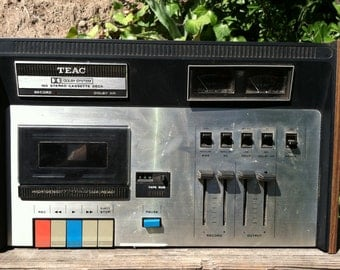 Vintage 1973 Teac 160 Stereo Cassette Deck Dolby System Record DJ Rare Old School Stereo Equipment Gift epsteam