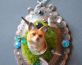 Fox Hunt Necklace