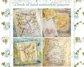 SALE!!! Hand Embroidery Pattern Book Sketches from Nature