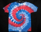 All American Tye Dye Tshirt Youth Medium