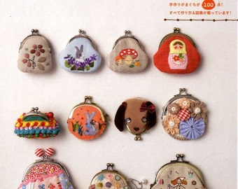 Easy and Cute Coin Purses - Japanese Craft  Book