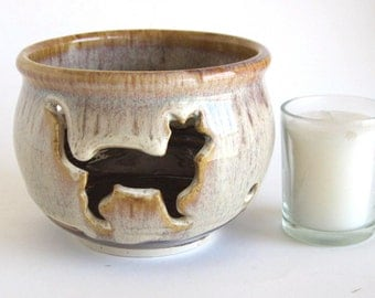 Candle Holder - Cat Pose 1