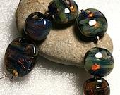 Lampwork Art Beads by Jeanniesbeads 2733