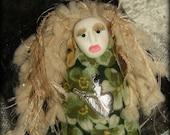 Aromatherapy Spirit Doll Smells Divine, Wonderful Stress Reducer!