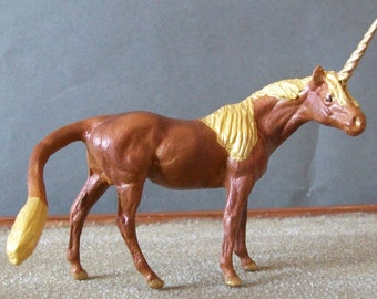 OOAK Stablemate Scale Unicorn Fantasy Horse