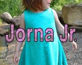 Toddler Girl Jersey Dress Pattern - Jorna Jr.