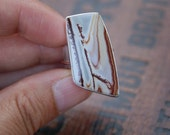 ON HOLD Canyon Sunset, a Sonoran Rhyolite ring, On Sale