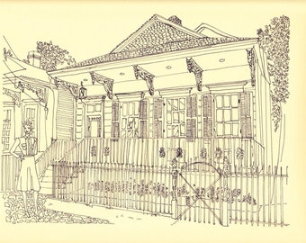Uptown New Orleans  (digital print)