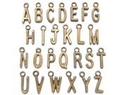 Alphabet charms A-Z choose your own alphabets