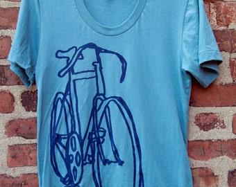 Bike Art - Racycle Bicycle Scribble T