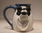 Happy Panda  Bear Mug ....                                        e597