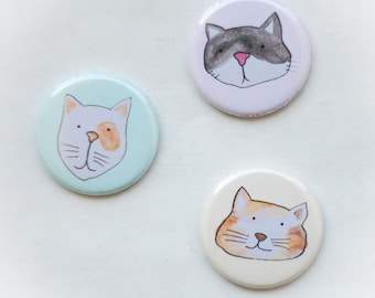 cat magnet set one