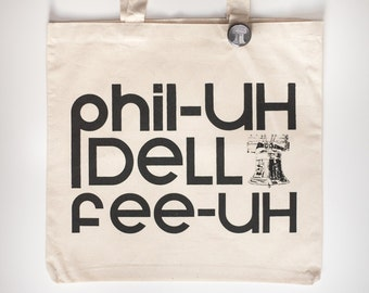 Philadelphia Pennsylvania tote bag liberty bell