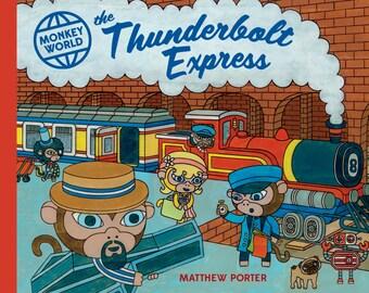 Monkey World: Thunderbolt Express Book